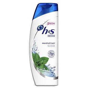 H&S Champú anticaspa efecto refrescante Menthol Fresh 700 ml