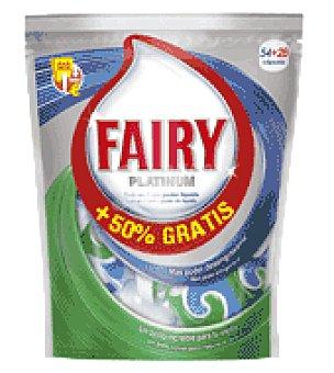 Fairy Lavavajillas maquina platinum pastilla 54 ud