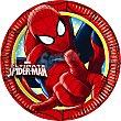 Plato decorado redondo 18 cm Paquete 8 unidades Spiderman Marvel