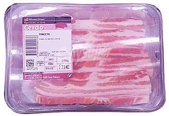 Martinez Loriente Cerdo panceta filete fresco a granel 50 g peso aprox. unidad
