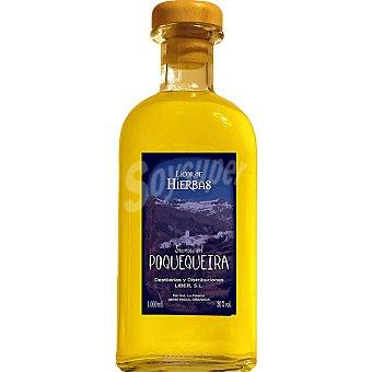 SECRETOS DEL POQUEIRA Licor de orujo de hierbas Botella 1 l