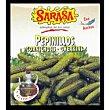 Pepinillos con anchoa y aceite de oliva 115 g Sarasa