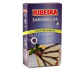 Ribeira Sardinillas en aceite de vegetal 60 gramos