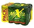 Cerveza sin alcohol con gaseosa sabor limón Pack 12 latas 33 cl Mixta Mahou