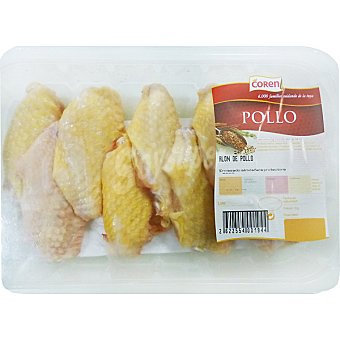 Granjero Alones de pollo amarillo bandeja 500 g peso aproximado Bandeja 500 g