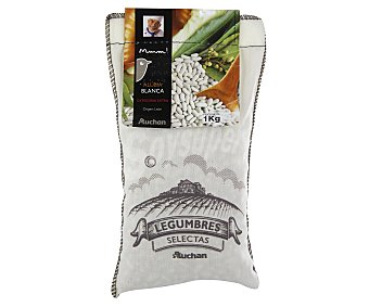 Mmm Auchan Alubia blanca de la Bañeza Saco de 1 kg