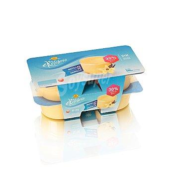 Reina Natillas de vainilla sin azúcares añadidos Pack 4 x 125 g
