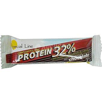SPECIAL LINE Barrita de proteinas 32% sabor chocolate unidad 40 g