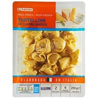 Eroski Tortelloni 4 quesos 250g