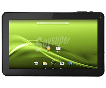 SELECLINE 852994 Tablets con pantalla de 10,1'' (producto económico alcampo), procesador: Dual Core 1,2GHz, Ram: 1Gb, almacenamiento: 4Gb ampliable con microsd, cámara frontal, hdmi, microusb, playstore, Android 4.2,