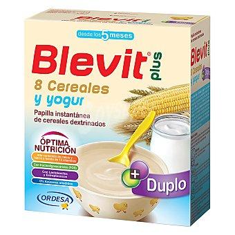 Blevit Papilla 8 Cereales con Yogur 600 g