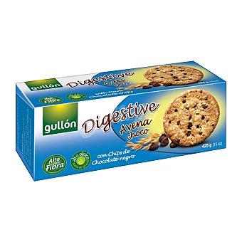 Gullón Galleta digestive avena con pepitas de chocolate Paquete de 425g