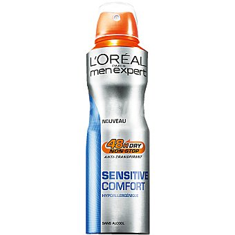 L'Oréal Men Expert Desodorante Sensitive Comfort anti-transpirante Spray 200 ml