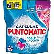 Detergente en cápsulas doble acción Bolsa 16 dosis Puntomatic