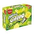 Mini polo de hielo, con sabor a lima-limón 6 x 80 ml Calippo Frigo