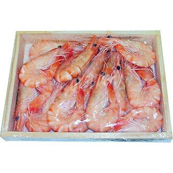 UNIMA langostino cocido de madagascar 40-50 pzas/kg caja 1 kg