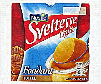 Sveltesse Nestlé Fondant Desnatado Toffe 125g
