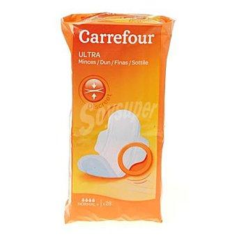 Carrefour Compresas ultra con alas normal 28 ud 28 ud
