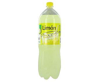 Productos Económicos Alcampo Refresco de limón (bebida refrescante aromatizada con azúcares y edulcorantes) Botella 2 l