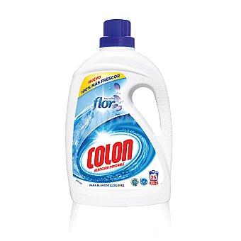 Colón Detergente máquina líquido flor botella 25 lv