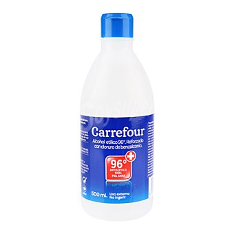 Carrefour Alcohol para desinfectar de 96º 500 ml
