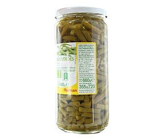 Auchan Judías verdes extra al natural bio Tarro de 355 gramos