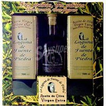 LAGUNA F. P. Vidueña Aceite de oliva virgen extra Pack 2x50 cl