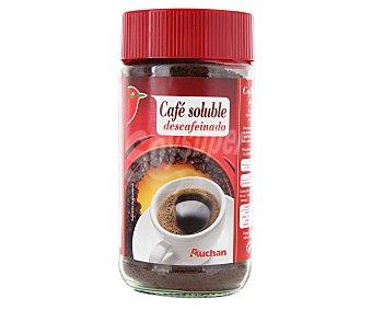 Auchan Café soluble descafeinado 200 gramos