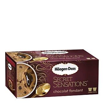 Secret Sensation Helado chocolate fondant tarrina Pack 2x100 ml