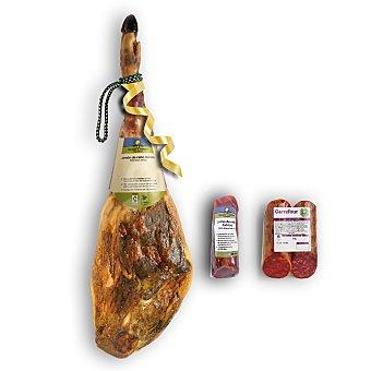 Calidad y Origen Carrefour Lote 54: jamón de cebo 50% raza ibérica Carrefour CYO 1 ud