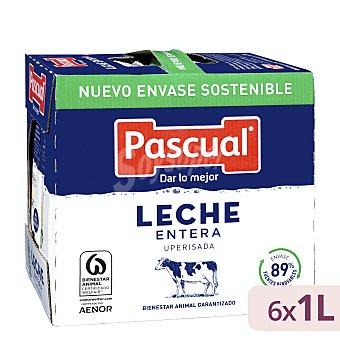 Pascual Leche entera 6 x 1 l