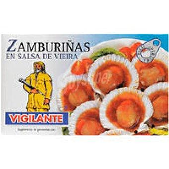 Vigilante Zamburiñas en salsa vieira Lata 115 g