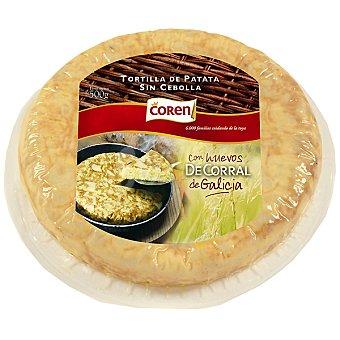 Coren Tortilla de patata de huevos de corral Envase 500 g