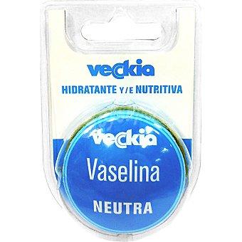 Veckia Vaselina labial Neutra perfumada hidratante y nutritiva Envase 15 ml