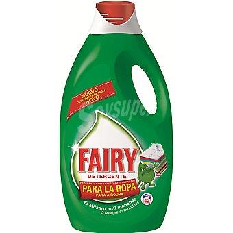FAIRY detergente máquina liquido con regalo de un lavavajillas, botella 850 ml 42 dosis