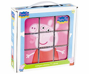 PEPPA PIG Puzzle de 9 cubos rompecabezas 1 unidad