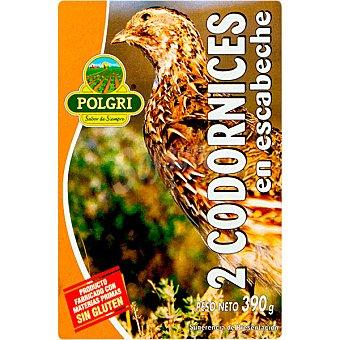 Polgri Codorniz escabechada 390 g