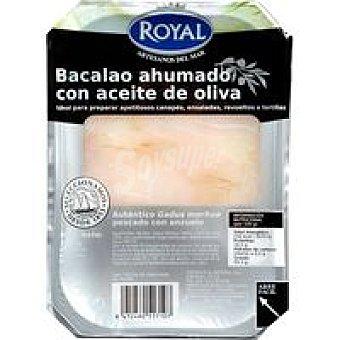 Royal Bacalao ahumado en aceite Bandeja 90 g
