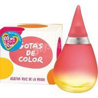 Ágatha Ruiz de la Prada Colonia Gotas de Color frasco 100 ml