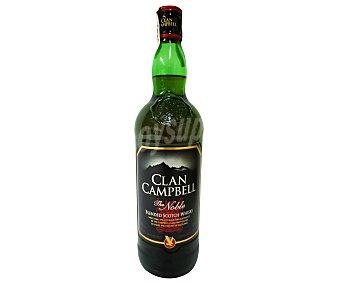 Clan Campbell Whisky blended escocés Botella de 1 litro