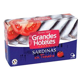 GRANDES HOTELES sardinas en tomate lata 88 grs