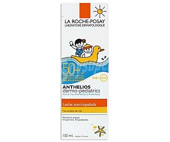 La Roche-Posay Leche solar niños, alta protección IP 50+, resistente al agua Anthelios 100 ml