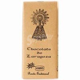 Caro Chocolate negro de Zaragoza tableta 150 g