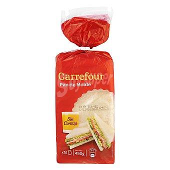 Carrefour Pan sin Corteza 425 g