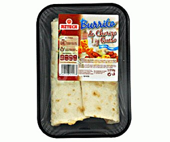 Azteca Burrito de Chorizo y Queso Burritos Chorizo/Qso210g