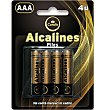 Pilas LR03 alcalinas 4 UNI Condis