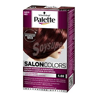 Palette Tinte Salón Colors 4,88 Castaño Rojizo 1 ud