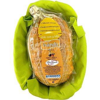 Buen Menú Pularda rellena de castañas, ciruelas y Pedro Ximénez peso aproximado  bandeja 1,8 kg
