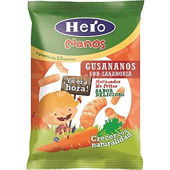 Hero Baby Gusananos de zanahoria 100% naturales 12m+ Nanos Envase 15 g