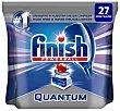 Lavavajillas máquina quantum en pastillas Bolsa 27 u Finish
